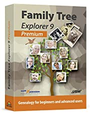 Family Tree Explorer 9 PREMIUM - Genealogy software compatible with Windows 10, 8.1, 7 - compatible with the international GEDCOM format