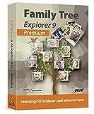 Software : Family Tree Explorer 9 PREMIUM - Genealogy Pedigree Software for Windows 10, 8.1, 7