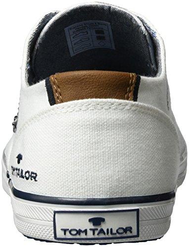 Tom Tailor 2781503 - Zapatillas de casa Hombre Weiß (white)