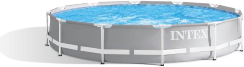 Intex Round Prism Frame Pool Set 26711EH Model