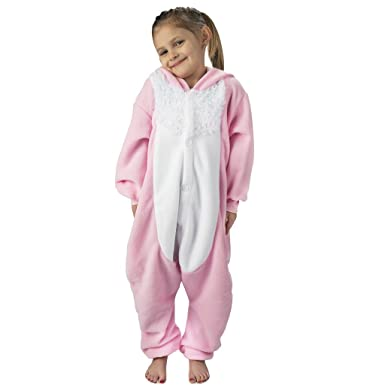 fbf83b331ec7 Amazon.com  Emolly Fashion Kids Animal Bunny Pajama Onesie - Soft ...