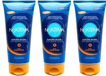Noxzema Sunless Glow Post Shave Lotion W/cocoa Butter 6.7oz