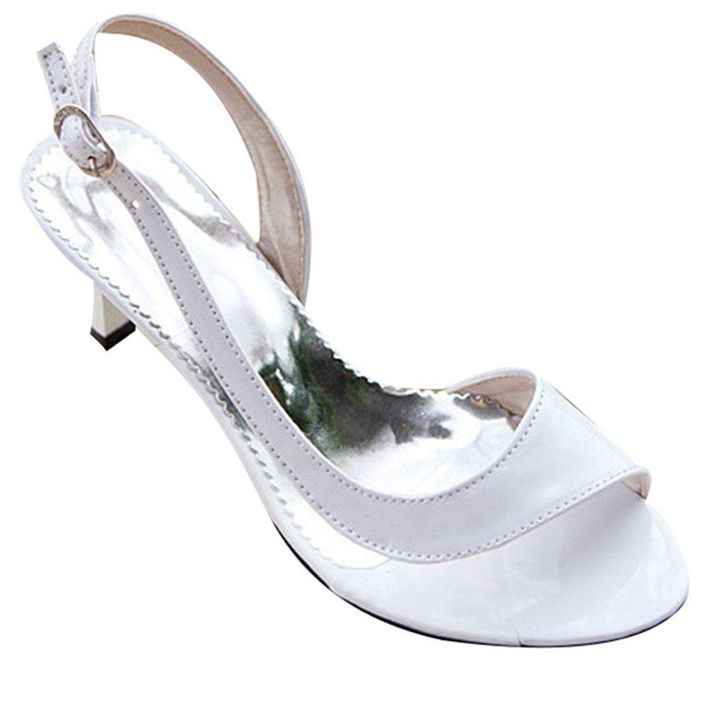 CHENYANG à Femmes Peep Toe Pompes à Talons Femmes Hauts B01H580C2K Chaussures de Mariage Fête Blanc 45b866f - automatisms.space