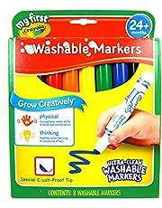 Crayola My First Crayola Washable Markers, 8ct