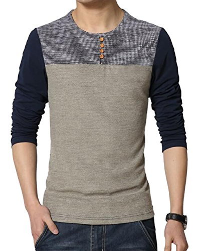 color block shirt - 8