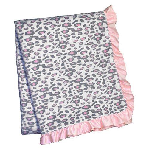 Carters Printed Sherpa Blanket Cheetah