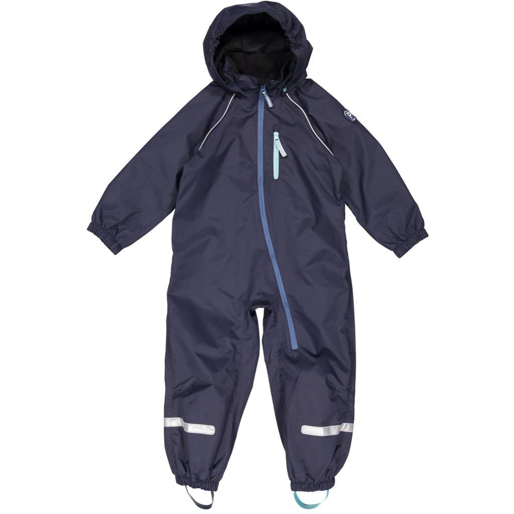 Polarn O. Pyret Shell Rain Suit (6-8YRS) - Dark Sapphire/7-8 Years