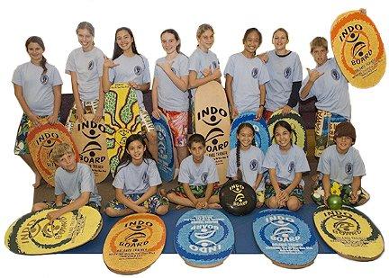 Indo Board Balance Board Mini Original Training Kit for Kids - Balance Board, Roller and Cushion by Indo Board Balance Trainers (Image #7)