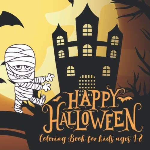 Peanuts Coloring Pages (Halloween Coloring Books for kids ages 4-8: happy halloween coloring book for toddlers pumpkins design (halloween coloring pages for)