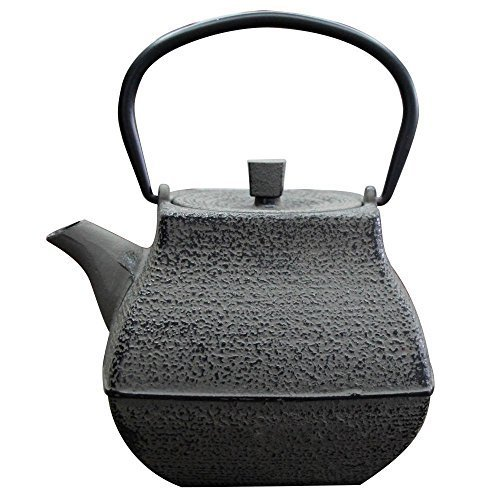 With Southern Iron iron kettle Japanese-made kettle ih corresponding teapot large stainless steel tea strainer rock garden 1.4L RST-IPJ014 by RyuSawaDo