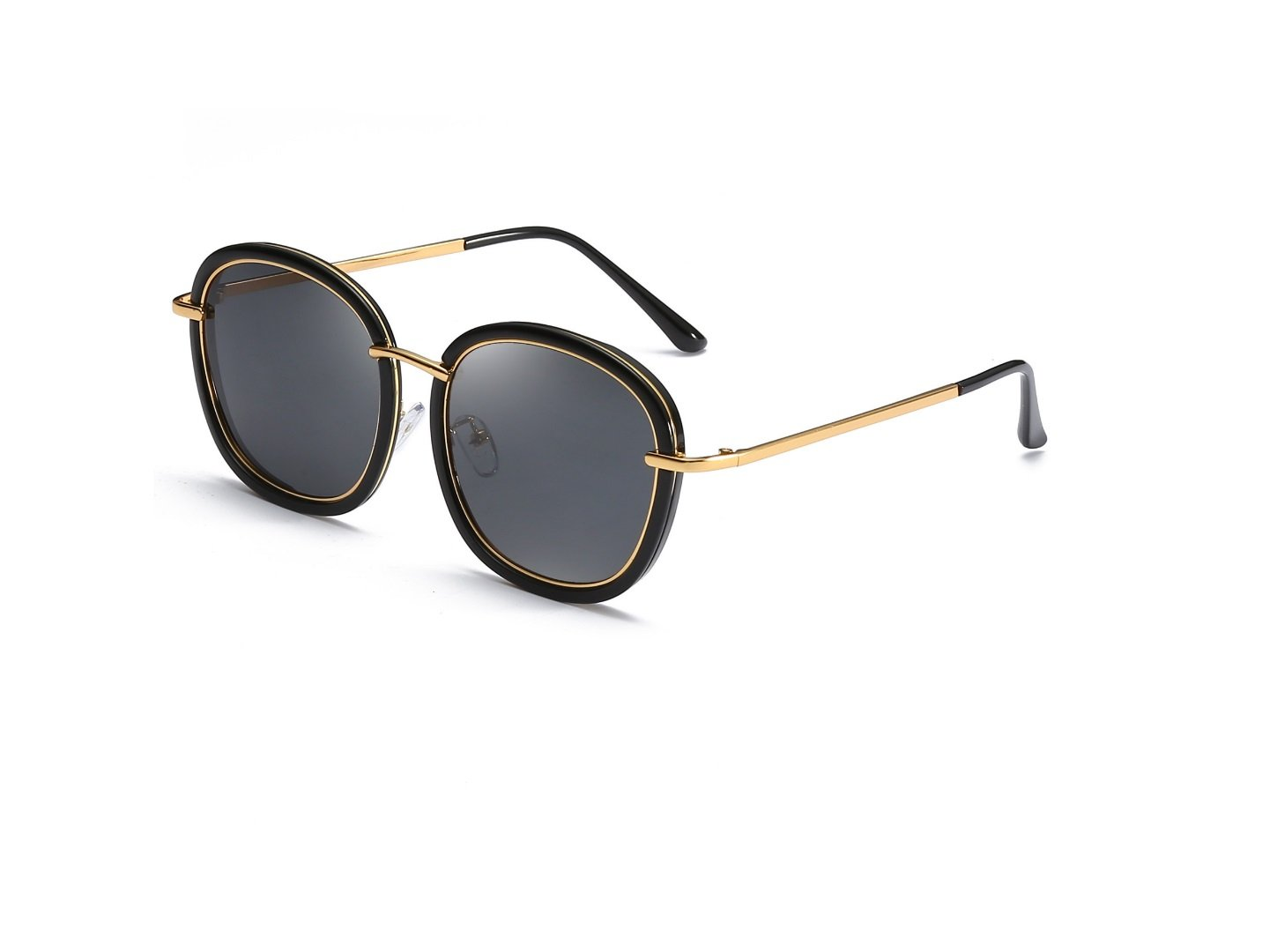 HDWY New European and American Sunglasses Ms. Extreme Fashion Star With Sunglasses Spot Fashion Outdoor Street Shoot, Camping, Fishing Driving (Color : 1) by HDWY