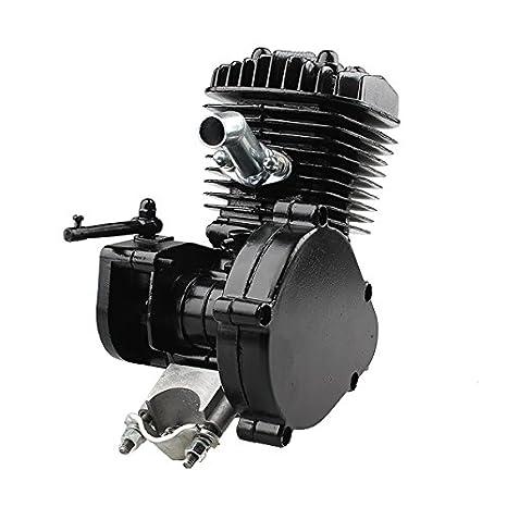 CALALEIE Kit de motor de gasolina de motor de bicicleta motorizado ...