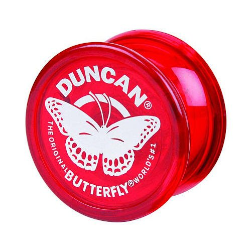 Genuine Duncan Butterfly Yo-Yo Classic Toy - Red