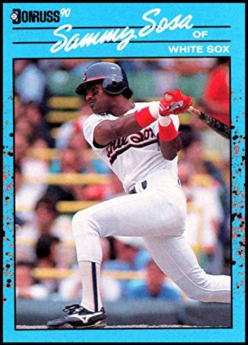 (1990 Donruss Best of the AL #104 Sammy Sosa NM-MT Chicago White Sox Officially Licensed MLB Base Ball Trading Card)