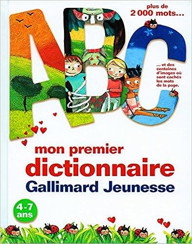 Telecharger Les Livres Pdf Mon Premier Dictionnaire