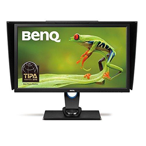 BenQ SW2700PT 68,58 cm (27 Zoll) Monitor (LED, WQHD, 2560 X 1440 Pixel, 99% Adobe RGB, 14bit 3D LUT, IPS-Technologie) schwarz
