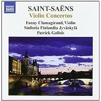 Saint-Saens: Violin Concertos Nos. 1-3