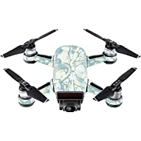 Skin For DJI Spark Mini – Blue Seashells | MightySkins Protective, Durable, and Unique Vinyl Decal wrap cover | Easy To Apply, Remove, and Change Styles | Made in the USA