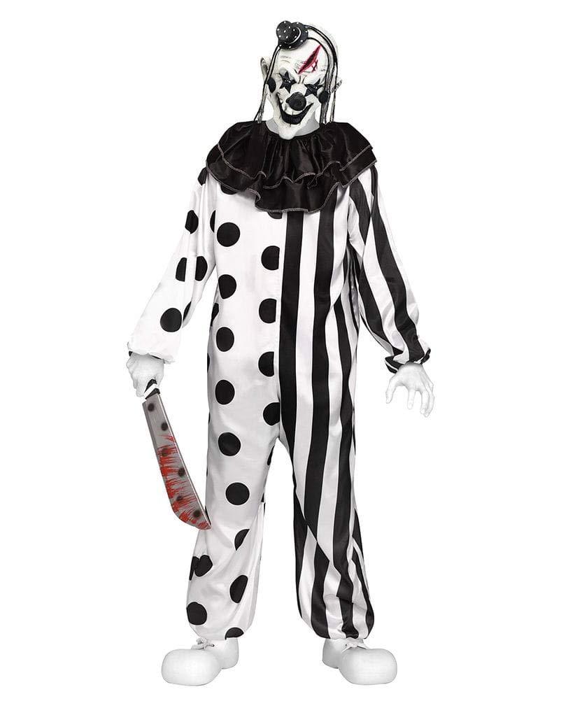 Horror-Shop Killer Clown Teenager Teenager Teenager Kostüm für Halloween M eacd56