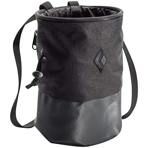 Black Diamond Mojo Zip Chalk Bag - Black Small/Medium Black Hole Chalk Bag