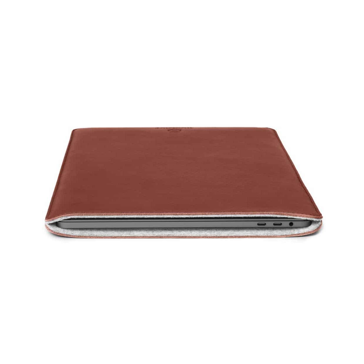 Woolnut MacBook Pro 13 & MacBook Air 13 (New) Sleeve - Cognac by Woolnut (Image #4)