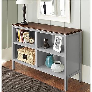 Chatham House Baldwin Horizontal Bookcase In Grey
