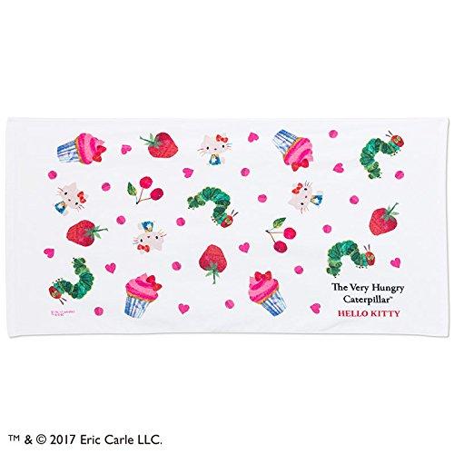 Hungry Caterpillar Costume Ideas (Sanrio Hello Kitty × The Very Hungry Caterpillar bath towel Heart From Japan New)