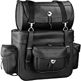 Raider BCS-911 Motorcycle Touring Bag with Removable Roll Bag