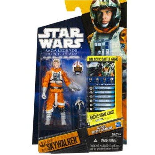 Action Figure by Hasbro 24952 Star Wars Saga Legends 2010 Luke Skywalker SL21