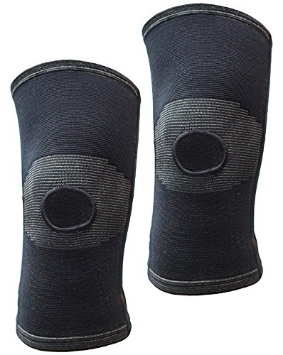 Thirty48 Knee Support Brace-Open patella-dual coil spring support stabilizers, relieves joint pain from ACL,MCL,PCL injury recovery, Arthritis, Sports. Knee protector Relieves Pain Symptoms(2 (Sport Coil Spring)
