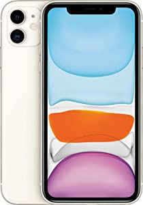 Apple iPhone 11, 64GB, White - For AT&T (Renewed)