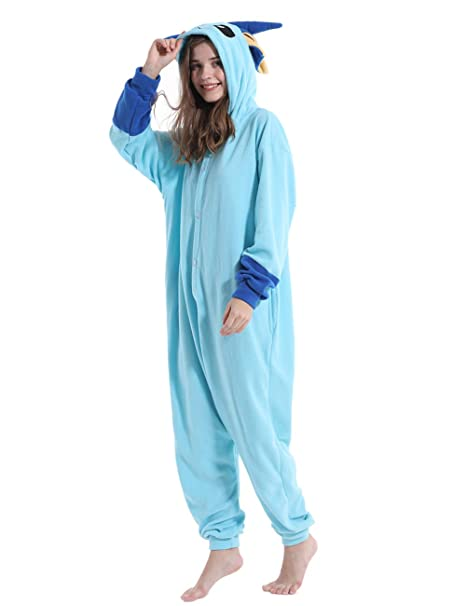 Adult Snorlax Onesies Pajamas Cosplay Animal Homewear Sleepwear Jumpsuit Costume Women Men