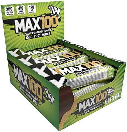 NPN MAX100 Proteinriegel, Cashew-Karamellgenuss