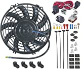 """American Volt 9"""" Inch Electric Radiator Cooling Fan 12 Vo..."""