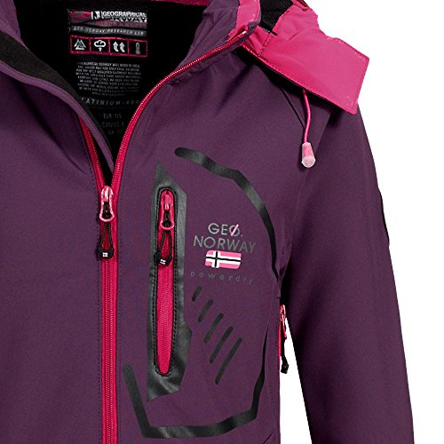 Donna Purple Norway Donna Geographical Purple Norway Giacca Giacca Geographical fw6fxpqZ