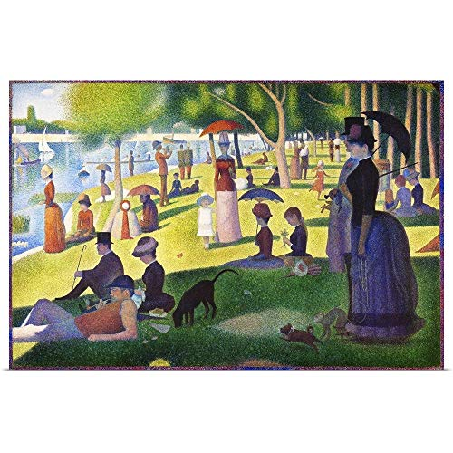 GREATBIGCANVAS Poster Print Entitled A Sunday on La Grande Jatte - 1884 by Georges (1859-1891) Seurat 24