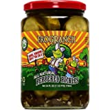 Frog Ranch Hot & Spicy All Natural Peppered Pickles 24 oz. (Pack of 2)