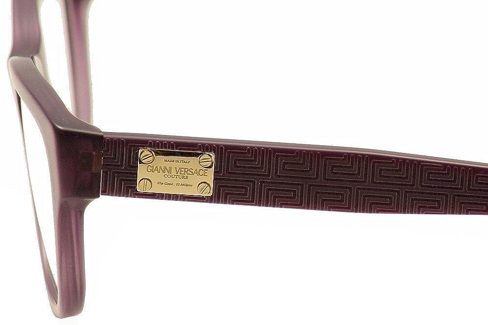 Versace Eyeglasses VE3204 5029 Mattte Transparent Violet 51 15 140