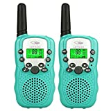 DIMY Walkie Talkies for Boys Kids, Long Range Kids Walkie Talkies for Outdoor Travel Hunting Boys Gifts Age 3-12 Best Top Boys Toys Age 3-12 2018 Christmas New Brithday Gifts for Boys Kids Green DJ81