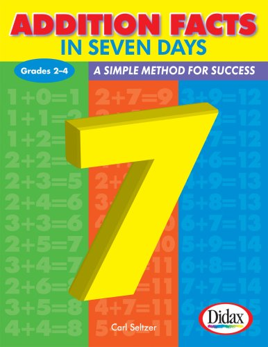 Addition Facts in Seven Days / Grades 2-4