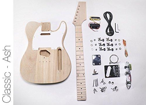 DIY Electric Guitar Kit - Ash TL Build Your Own Guitar