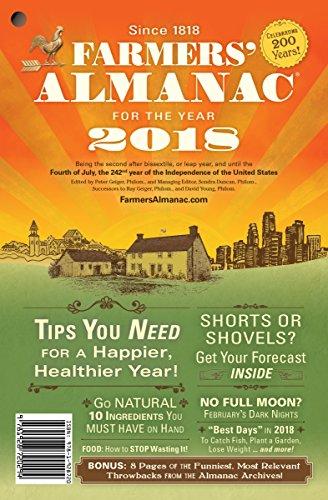 Farmers Almanac 2018