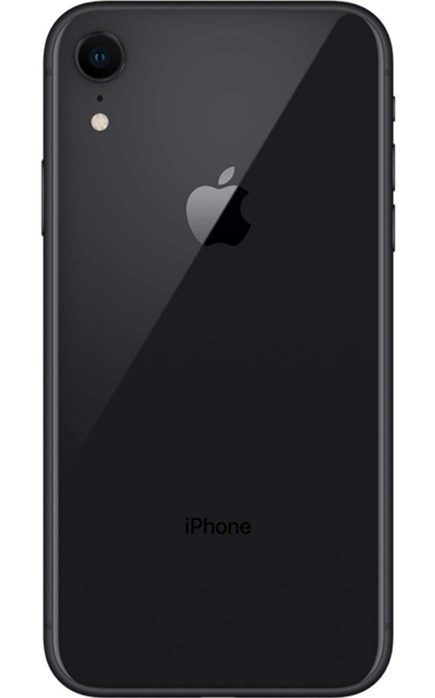Apple iPhone XR, Fully Unlocked, 64 GB - Black (Renewed)