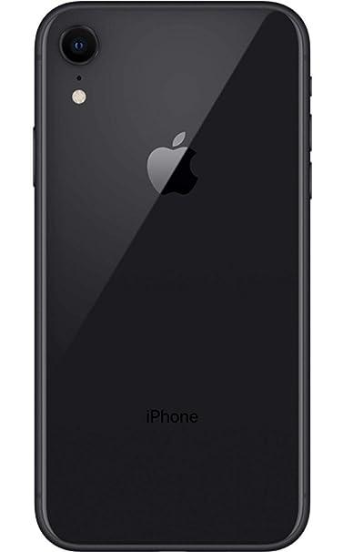 Apple iPhone XR, Fully Unlocked, 128 GB - Black (Renewed)