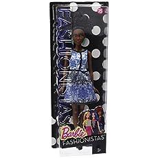 Barbie Fashionistas Doll 25 Blue Brocade - Petite