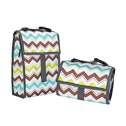 Lunch BagsThermal Insulation Picnic Handbag Food Cooler Box Storage Tote Bag (Colors - B)
