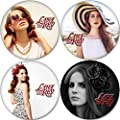 Lana Del Rey Buttons Badges/Pin 1.25 Inch (32mm)