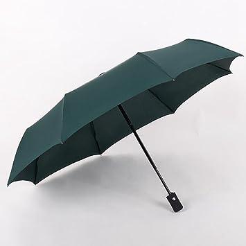 GOLAEkh,Automático paraguas paraguas de negocios plegables grandes dobles tres paraguas hombres y mujeres general