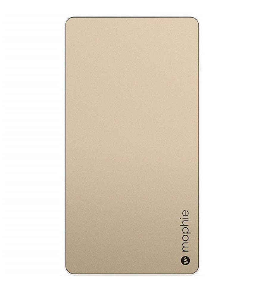 mophie powerstation XL External Battery for Universal Smartphones and Tablets (10,000mAh) - Gold