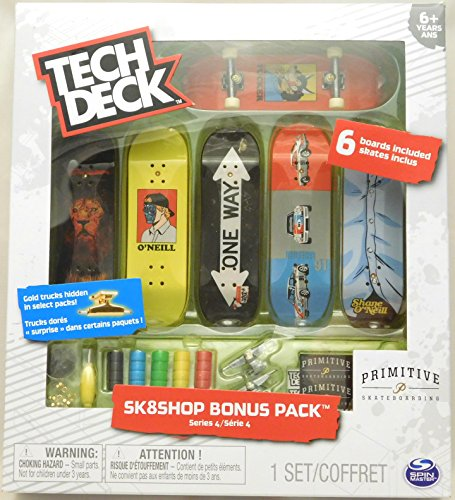 Tech Deck - Sk8shop Bonus Pack Series 4 - Primitive by Tech Deck (Image #2)